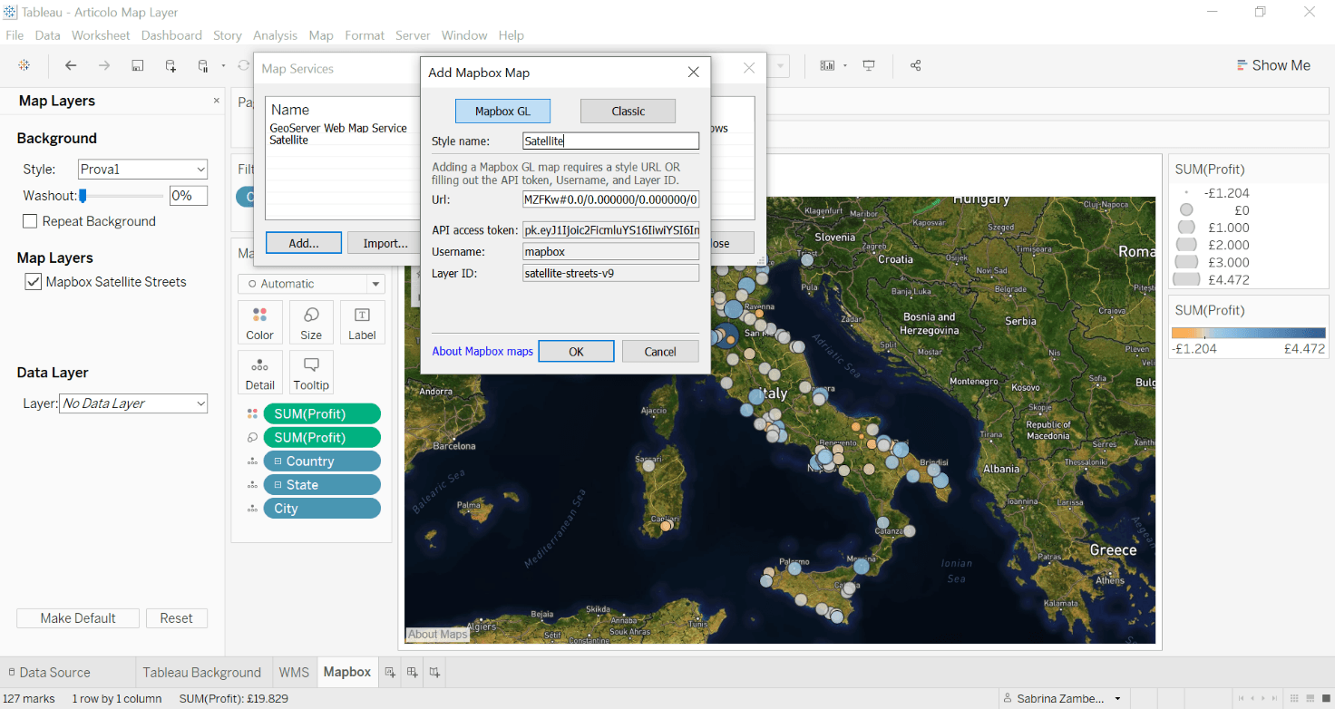 tableau map layer