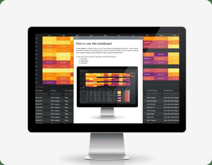 Estensione DashboardGuide di Tableau - Visualitics